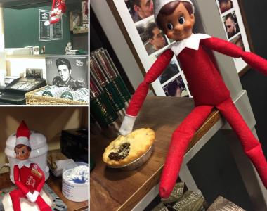 Famous Henrys Elf on the Shelf