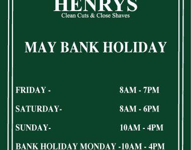 May Bank Holidays